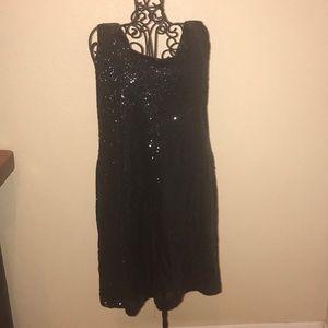Rue21 black sequin dress XL